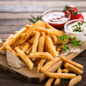 Our delicious French fries are deep fried 'till golden brown, with a crunchy exterior and a light fluffy interior. Seasoned to perfection