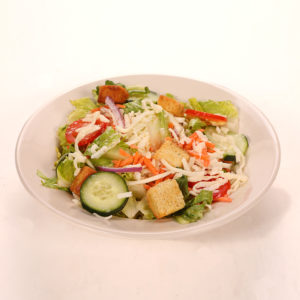 Lettuce, Tomato, Onion, Croutons